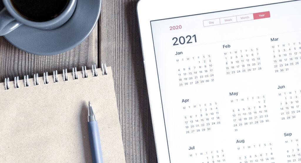 Planner4You kalenderfunktion